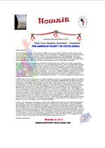 ASSA Jan/Feb/Mar 2015 Newsletter [PDF]